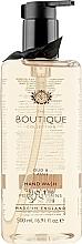"""Parfumuri și produse cosmetice Săpun lichid de mâini """"Agar și coacăz negru"""" - Grace Cole Boutique Oud & Cassis Hand Wash"""