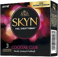 Parfumuri și produse cosmetice Prezervative, 3 buc - Unimil Skyn Cocktail Club