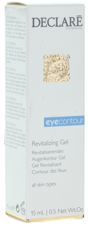 Gel pentru pleoape - Declare Revitalising Eye Contour Gel — Imagine N1