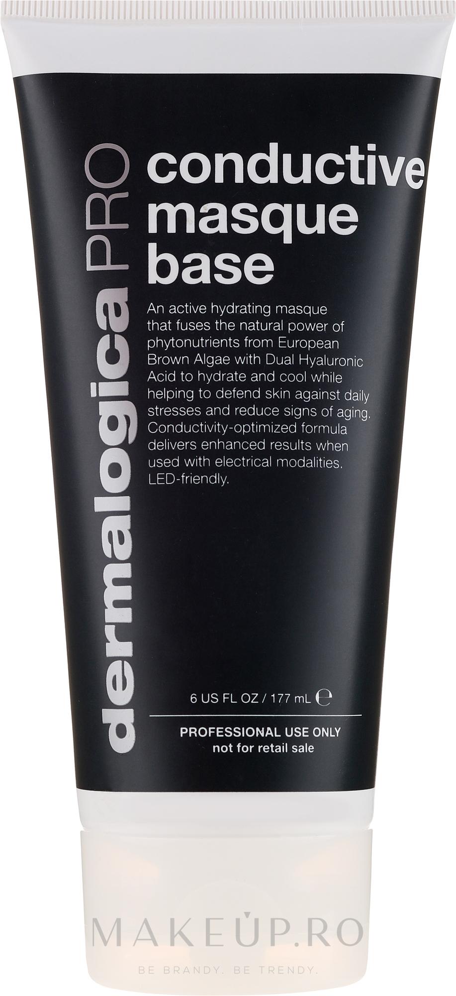 Mască de față - Dermalogica PRO Conductive Masque Base — Imagine 177 ml