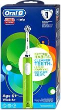 Parfumuri și produse cosmetice Periuță electrică de dinți, pentru copii, 6+ - Oral-B Braun Junior