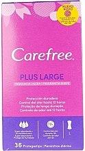 Parfumuri și produse cosmetice Absorbante, 36 buc. - Carefree Plus Large Maxi