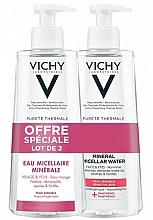 Parfumuri și produse cosmetice Set - Vichy Purete Thermale Mineral Micellar Water (demaq/2x400ml)