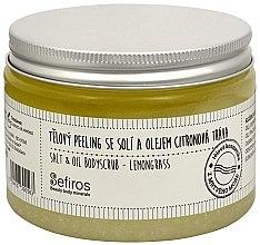 """Parfumuri și produse cosmetice Scrub pentru corp """"Lemongrass"""" - Sefiros Lemongrass Body Scrub"""