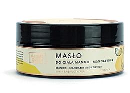 """Parfumuri și produse cosmetice Ulei de corp """"Mango și Mandarină"""" - Nature Queen Body Butter"""