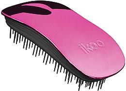 Parfumuri și produse cosmetice Pieptene pentru păr - Ikoo Home Cherry Metallic Brush