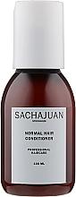 Parfumuri și produse cosmetice Balsam pentru pieptănarea și strălucire ușoară a părului normal - Sachajuan Normal Hair Conditioner