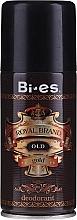 Parfumuri și produse cosmetice Deodorant spray - Bi-es Royal Brand Gold