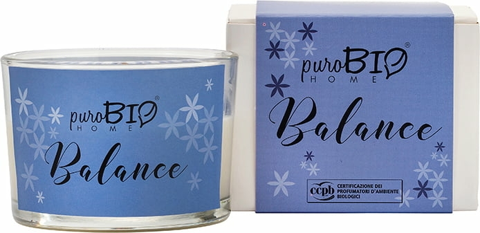 Lumânare organică - PuroBio Cosmetics Home Organic Balance — Imagine N1