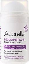 """Parfumuri și produse cosmetice Deodorant """"Migdale-romaniță"""" - Acorelle Deodorant Care"""