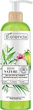 Parfumuri și produse cosmetice Gel de curățare pentru față - Bielenda Eco Nature Coconut Water Green Tea & Lemongrass Detox & Mattifyng Face Wash Gel