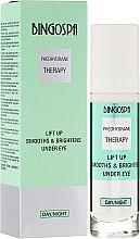 Parfumuri și produse cosmetice Cremă pentru pleoape - BingoSpa Lift Up Smooths Brightens Under Eye
