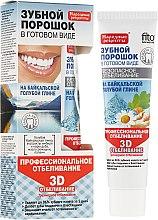 """Parfumuri și produse cosmetice Praf de dinți """"3D"""" - FitoKosmetik Praf de dinți"""