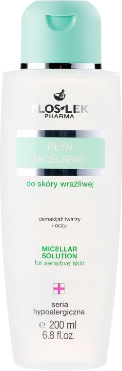 Apă micelară pentru ten sensibil - Floslek Micellar Solution For Sensitive Skin — Imagine N1