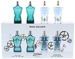 Parfumuri și produse cosmetice Jean Paul Gaultier Le Male - Set (edt/7ml + edt/7ml + edp/7ml + edp/7ml)