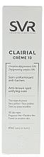 Fluid împotriva petelor pigmentare - SVR Clairial 10 Cream Anti-Brown Spot Unifying Care — Imagine N2
