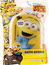 """Parfumuri și produse cosmetice Burete de baie """"Minions"""" pentru copii, minion fericit - Suavipiel Minnioins Bath Sponge"""