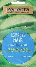 Parfumuri și produse cosmetice Mască hidratantă pentru față, cu aloe vera - Perfecta Express Mask