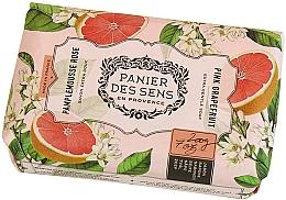 """Parfumuri și produse cosmetice Săpun extra-delicat cu unt de shea """"Grapefruit"""" - Panier des Sens Shea Butter Soap Bar Pink Grapefruit"""