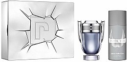 Parfumuri și produse cosmetice Paco Rabanne Invictus - Set (edt/100ml + deo/spr/150ml)