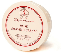 "Parfumuri și produse cosmetice Cremă de ras ""Trandafir"" - Taylor of Old Bond Street Rose Shaving Cream Bowl"