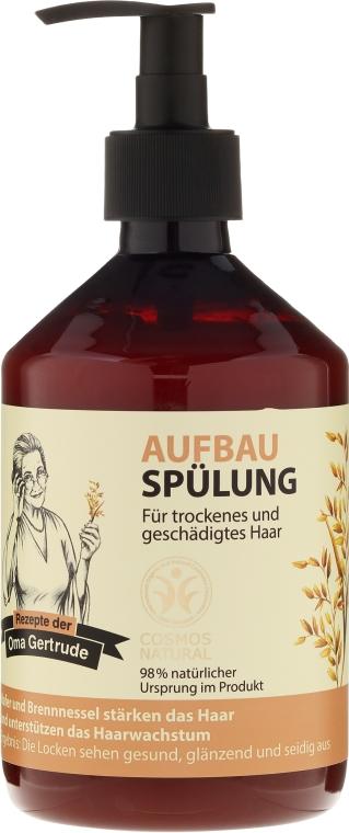 Balsam de păr revitalizant - Rezepte der Oma Gertrude