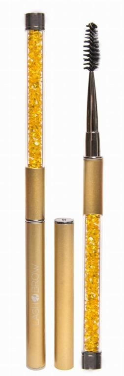 Perie pentru gene și sprâncene, aurie - Lash Brow Gold