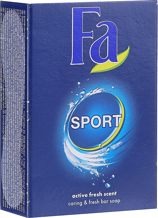 Săpun - Fa Energizing Sport Bar Soap