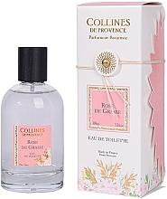 Parfumuri și produse cosmetice Collines de Provence Rose de Grasse - Apă de toaletă