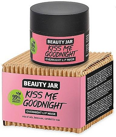 Mască de noapte pentru buze - Beauty Jar Kiss Me Goodnight Overnight Lip Mask