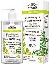 Parfumuri și produse cosmetice Gel pentru igiena intimă - Green Pharmacy Normalizing Gel