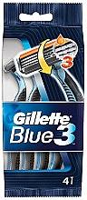 Parfumuri și produse cosmetice Set aparate de ras, 4 buc. - Gillette Blue 3