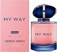 Parfumuri și produse cosmetice Giorgio Armani My Way Intense - Apă de parfum