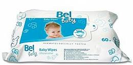 Parfumuri și produse cosmetice Șervețele umede pentru copii - Bel Baby Wipes