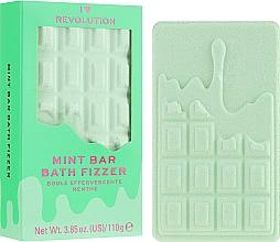 """Parfumuri și produse cosmetice Bombă de baie - I Heart Revolution Chocolate Bar Bath Fizzer """"Mint"""""""