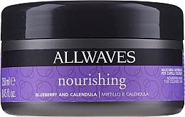 Parfumuri și produse cosmetice Mască nutritivă cu extract de calendulă și fructe de pădure pentru păr - Allwaves Blueberry And Calendula Nourishing Mask