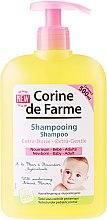 Parfumuri și produse cosmetice Șampon delicat cu extract de floare de migdale - Corine de Farme Baby