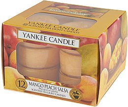 Lumânări pastile - Yankee Candle Scented Tea Light Candles Mango Peach Salsa — Imagine N5