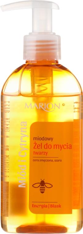 Gel din miere, pentru față - Marion