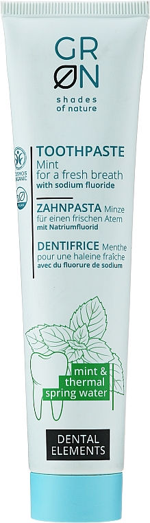 Pastă de dinți - GRN Mint Toothpaste with Thermal Water