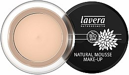 Parfumuri și produse cosmetice Fond de ten spumă - Lavera Natural Mousse Make Up Cream Foundation