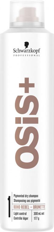 Șampon uscat - Schwarzkopf Professional Osis+ Boho Rebel Brunette — Imagine N2