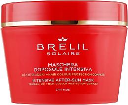 Parfumuri și produse cosmetice Mască după plajă pentru păr - Brelil Solaire Intensive After-Sun Musk