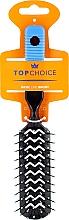 Parfumuri și produse cosmetice Perie de păr, 2205, neagră-albastră - Top Choice