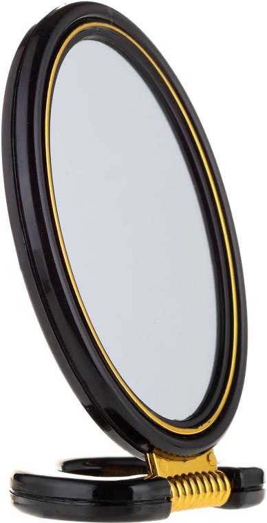 Oglindă cosmetică, 5114, neagră - Top Choice