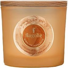 """Parfumuri și produse cosmetice Lumânare parfumată în suport de sticlă """"Scorțișoară"""" - Flagolie Fragranced Candle Cinnamon Refreshing"""