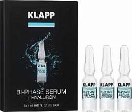 "Parfumuri și produse cosmetice Ser bifazic ""Hyaluron"" - Klapp Bi-Phase Serum Hyaluron"