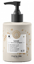 Parfumuri și produse cosmetice Mască de păr - Maria Nila Colour Refresh Sand