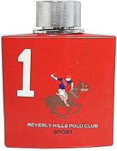 Parfumuri și produse cosmetice Beverly Hills Polo Club Men Sport No.01 - Apă de toaletă (tester cu capac)