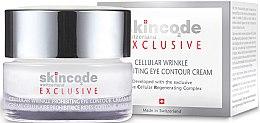Parfumuri și produse cosmetice Cremă pentru zona ochilor - Skincode Exclusive Cellular Wrinkle Prohibiting Eye Contour Cream